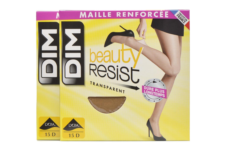 Socken & Strumpfhosen Dim Collant Beauty Resist transparant Pack de 2 farblos detaillierte ansicht/modell