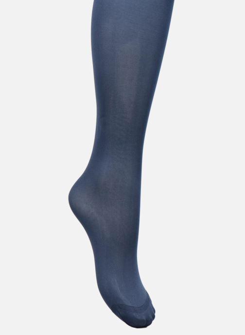 Chaussettes et collants Dim Collant Body Touch Opaque Bleu vue gauche