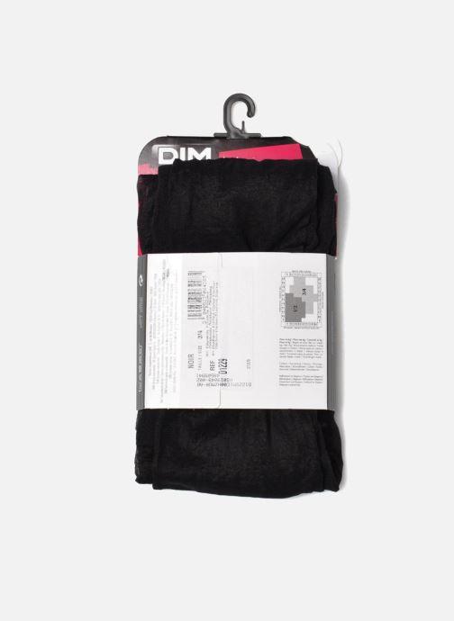 Chaussettes et collants Dim Collant Effet plumetis Noir vue derrière