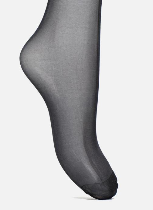 Chaussettes et collants Dim Dim Up Easy - Jarretière graphique Noir vue gauche
