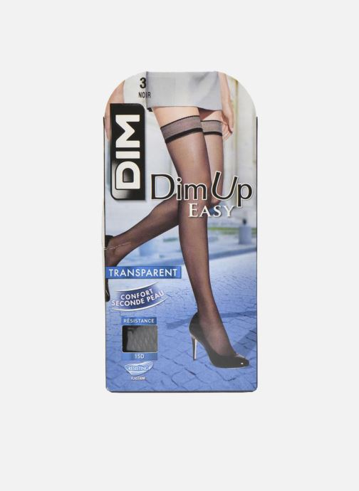 Chaussettes et collants Dim Dim Up Easy - Jarretière graphique Noir vue détail/paire