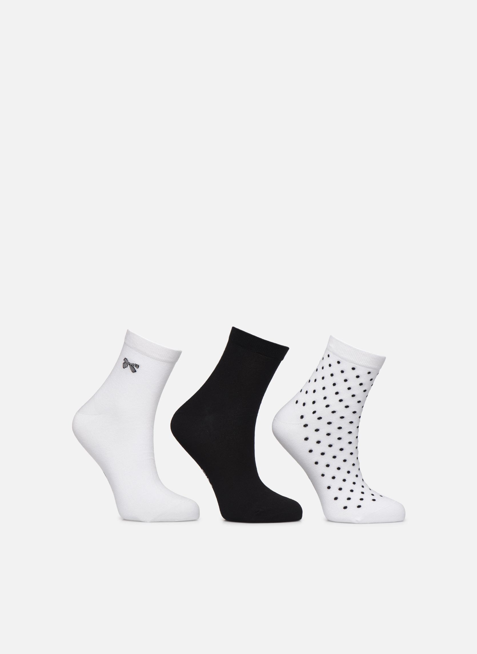 Chaussettes et collants Accessoires Socquettes Pois & Noeuds Pack de 3
