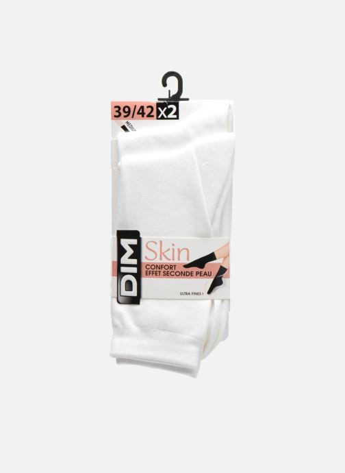 Socks & tights Dim Chaussettes Skin Pack de 2 White back view
