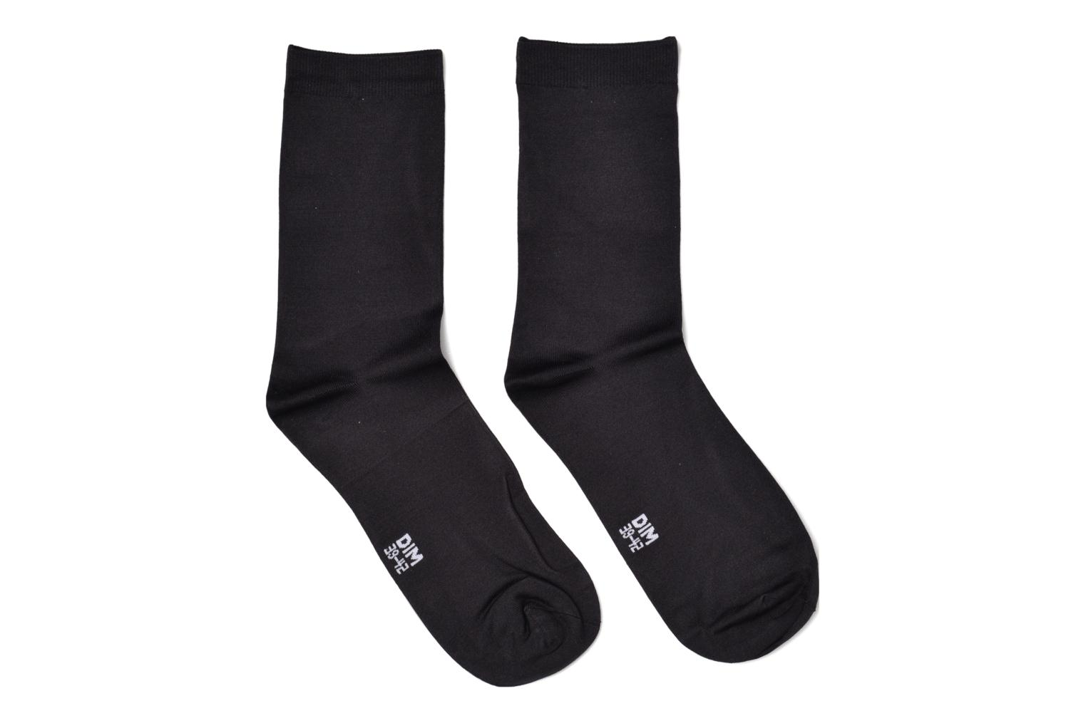Socks & tights Dim Chaussettes Skin Pack de 2 Black detailed view/ Pair view