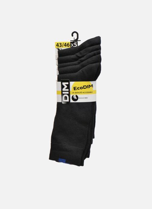 Chaussettes et collants Dim Chaussettes EcoDimM Pack de 5 Homme Noir vue derrière