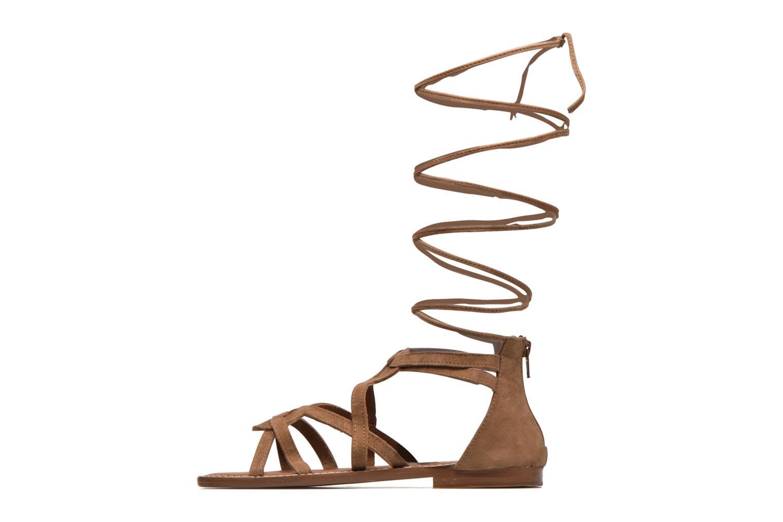 Sandalen L'Atelier Tropézien Josette beige ansicht von vorne