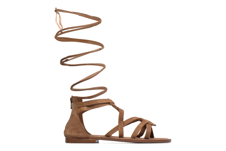 Sandalen L'Atelier Tropézien Josette beige ansicht von hinten