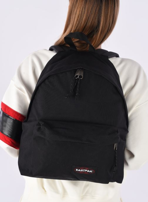 Rucksacks Eastpak PADDED PACK'R Sac à dos toile Black view from underneath / model view