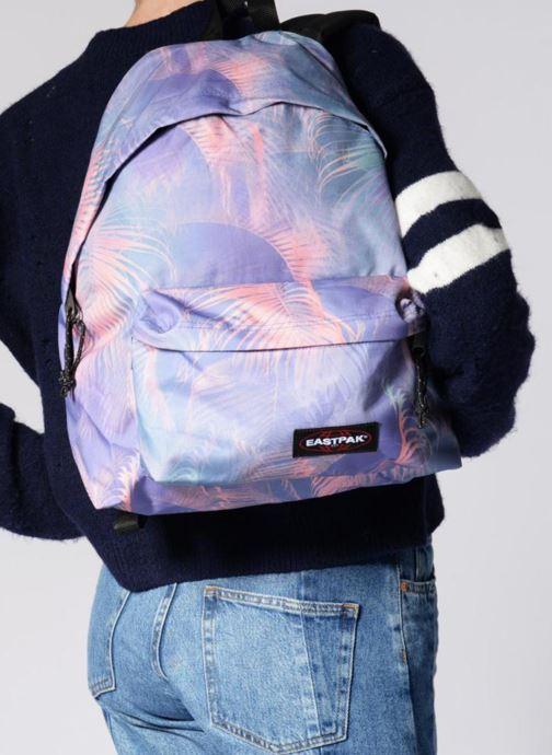 Sacs à dos Eastpak PADDED PACK'R Sac à dos toile Multicolore vue bas / vue portée sac
