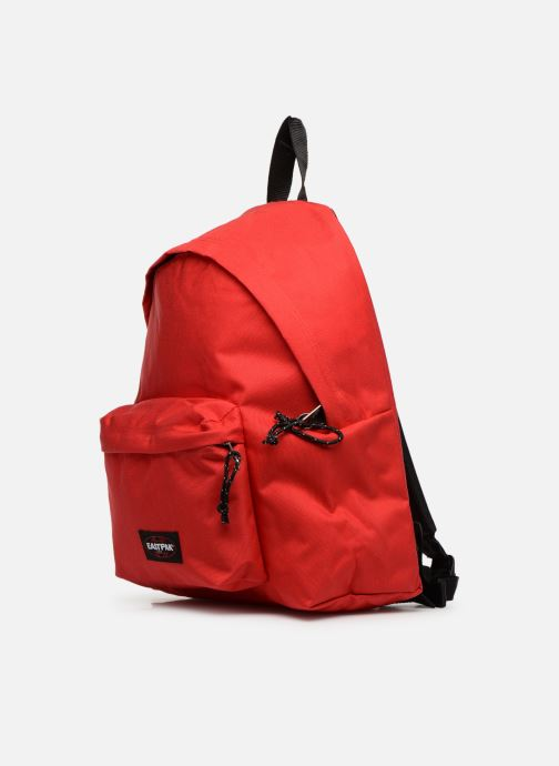 Sacs à dos Eastpak PADDED PACK'R Sac à dos toile Rouge vue portées chaussures