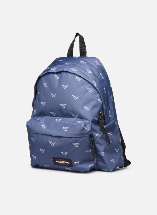 Sacs à dos Eastpak PADDED PACK'R Sac à dos toile Bleu vue portées chaussures