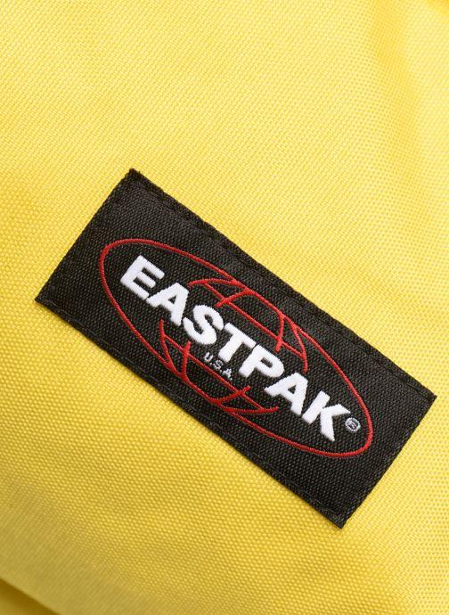 Sacs à dos Eastpak PADDED PACK'R Sac à dos toile Jaune vue gauche