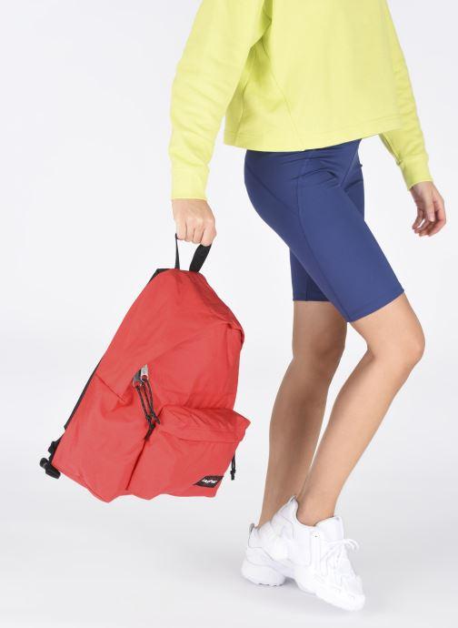 Sacs à dos Eastpak PADDED PAK'R Sac à dos toile Rouge vue bas / vue portée sac