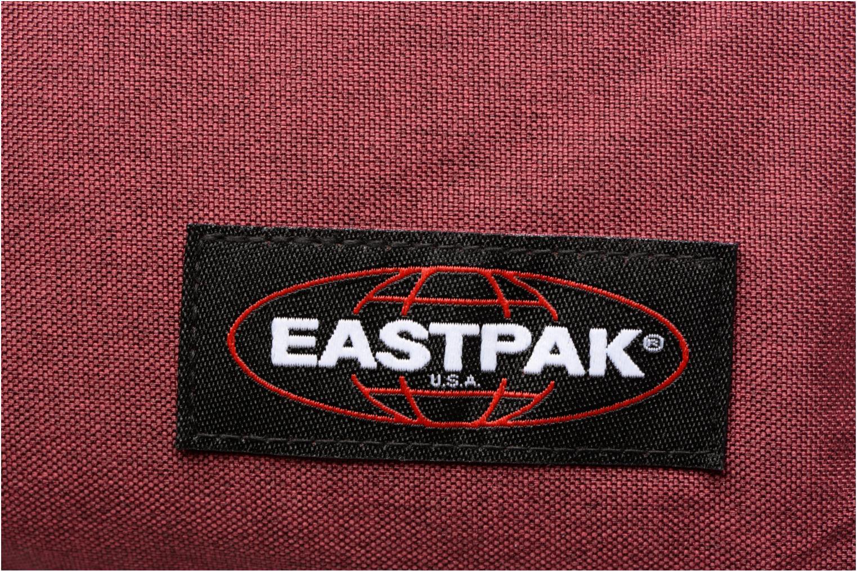 Ryggsäckar Eastpak PADDED PACK'R Sac à dos toile Vinröd bild från vänster sidan