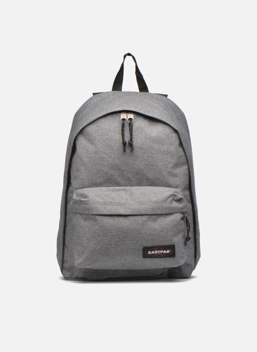 Skoletasker Eastpak Out of Office . Grå detaljeret billede af skoene