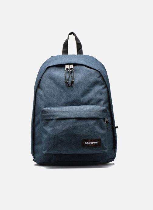 Skoletasker Eastpak Out of Office . Blå detaljeret billede af skoene
