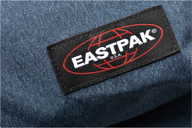 Schooltassen Eastpak OUT OF OFFICE Sac à dos toile Blauw links