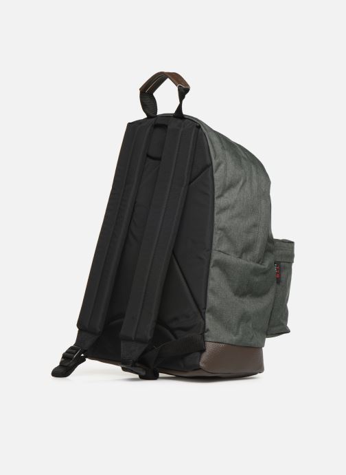 Rucksacks Eastpak WYOMING Sac à dos toile Green view from the right