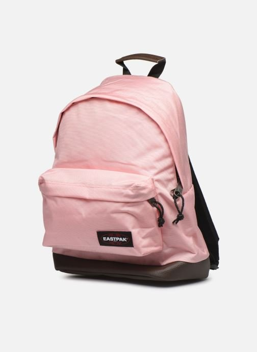 Rucksacks Eastpak WYOMING Sac à dos toile Pink model view