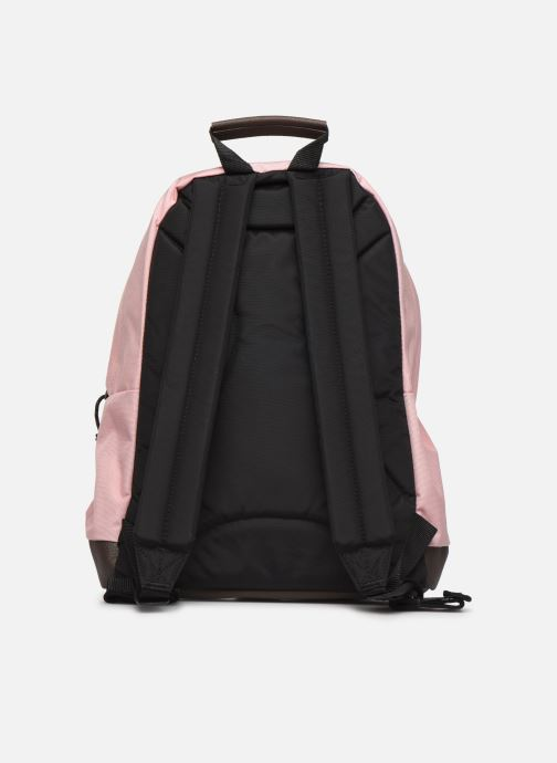 Rucksacks Eastpak WYOMING Sac à dos toile Pink front view