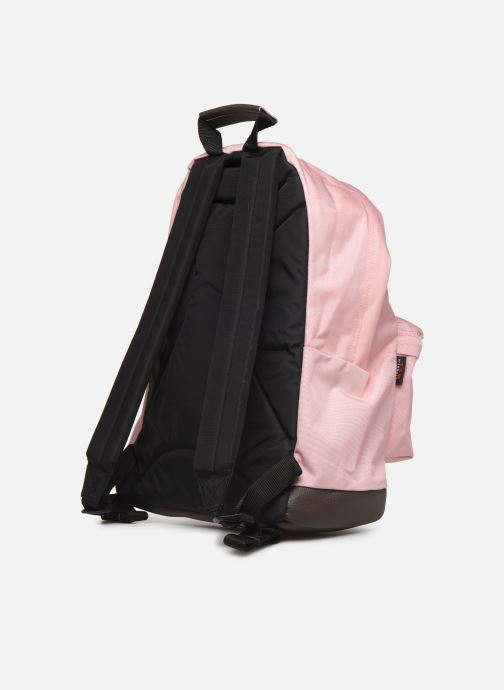 Rucksacks Eastpak WYOMING Sac à dos toile Pink view from the right