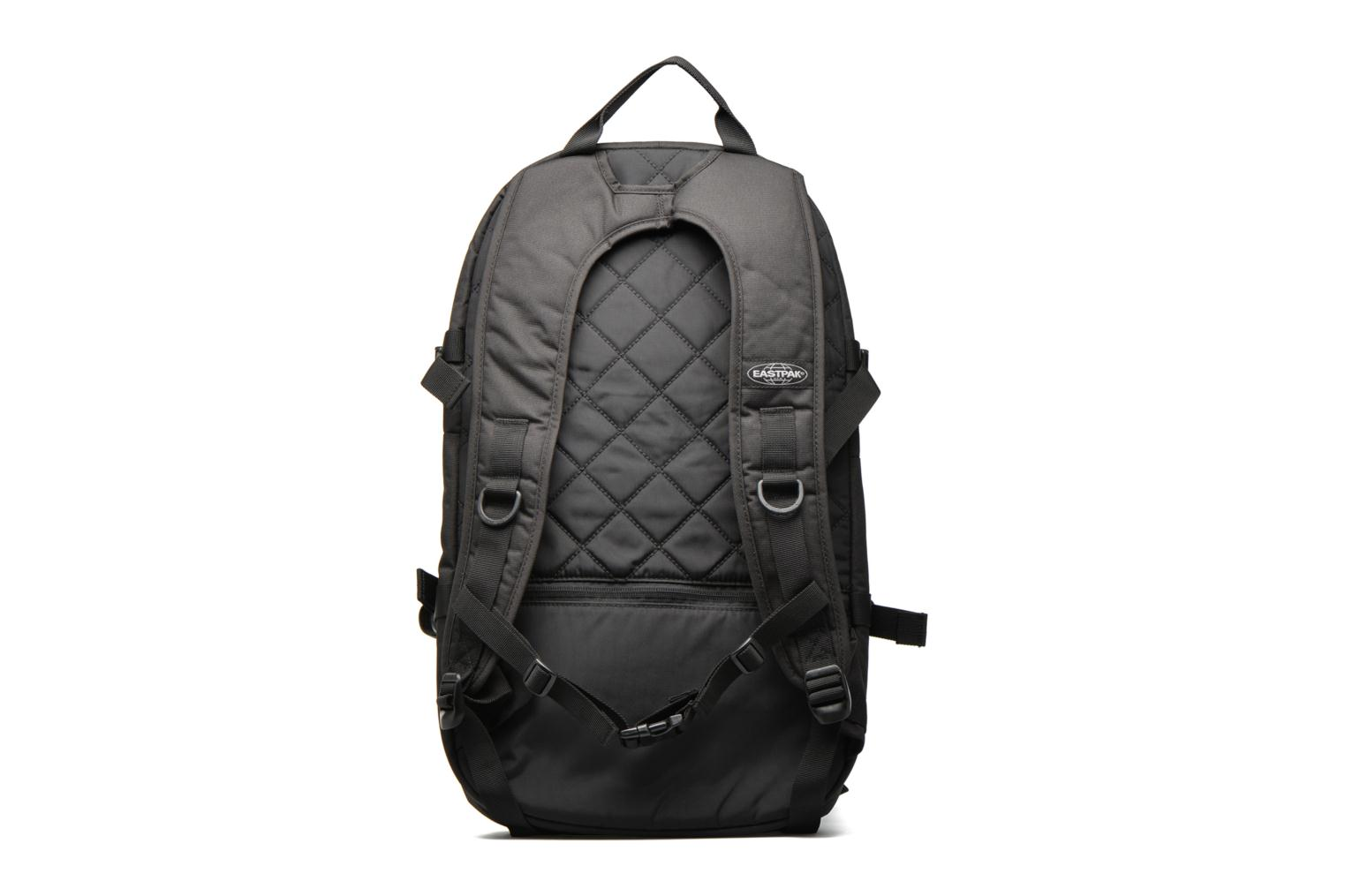 Rucksacks Eastpak HUTSON Sac à dos toile Black front view