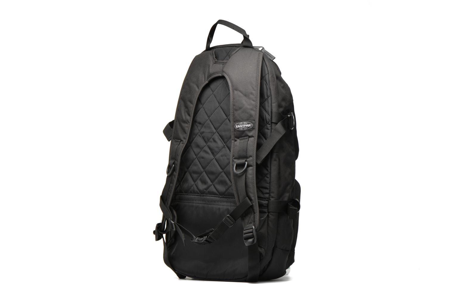 Rucksacks Eastpak HUTSON Sac à dos toile Black view from the right