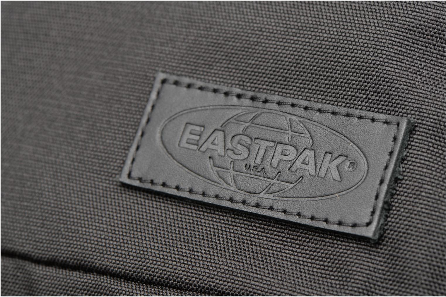 Rucksacks Eastpak HUTSON Sac à dos toile Black view from the left