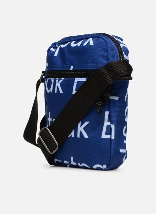 Bolsos de hombre Eastpak THE ONE Pochette crossover Azul vista lateral derecha
