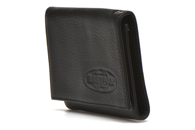 Marroquinería pequeña Eastpak CREW Portefeuille cuir Negro vista del modelo