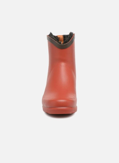 Ankle boots Aigle Ms Jul Bot Fur Red model view