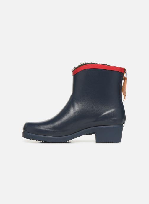 Bottines et boots Aigle Ms Jul Bot Fur Bleu vue face