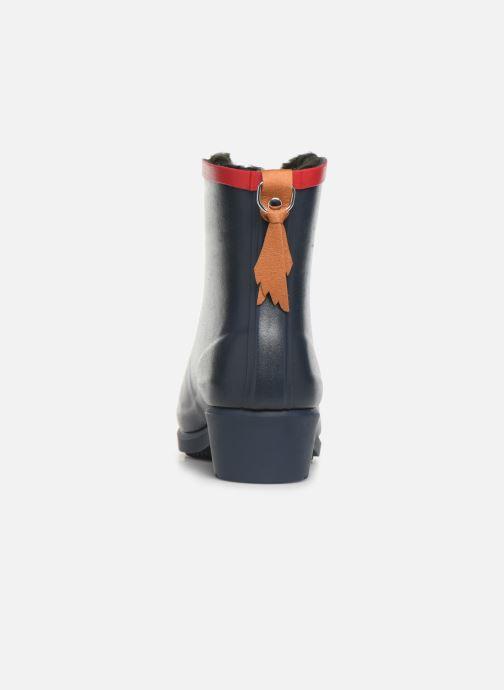 Bottines et boots Aigle Ms Jul Bot Fur Bleu vue droite