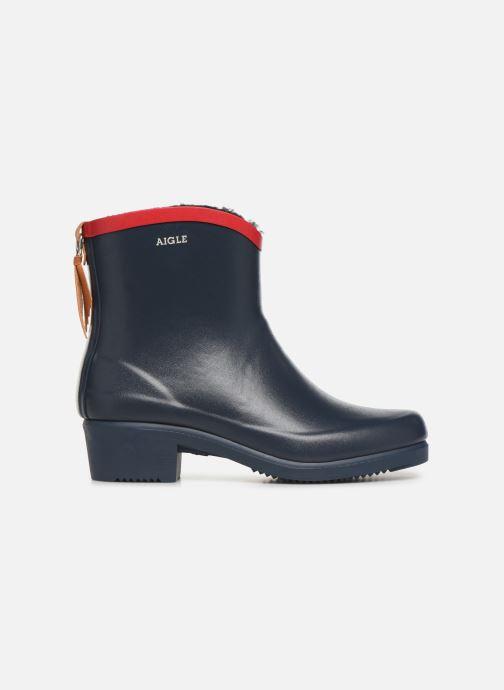 Bottines et boots Aigle Ms Jul Bot Fur Bleu vue derrière