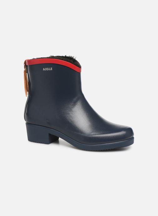 Bottines et boots Aigle Ms Jul Bot Fur Bleu vue détail/paire