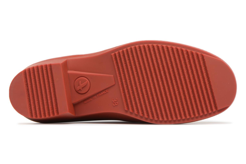 Boots Aigle Ms Jul Bot Fur Röd bild från ovan