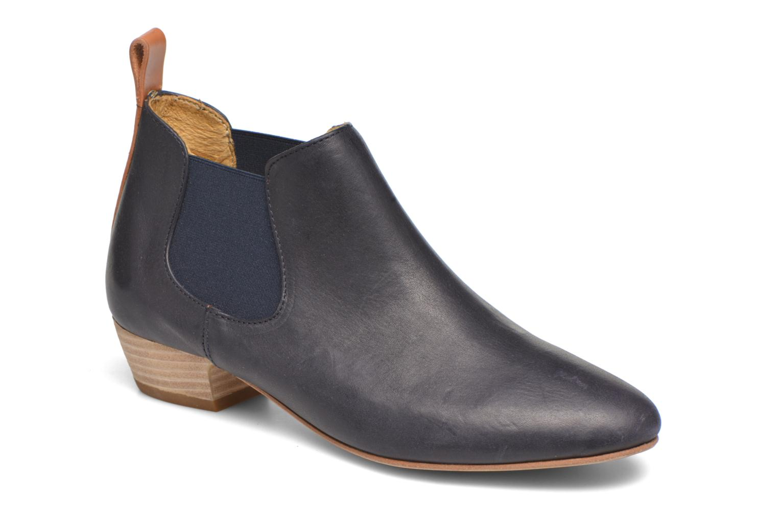 Ankle boots Aigle Mitis Blue detailed view/ Pair view