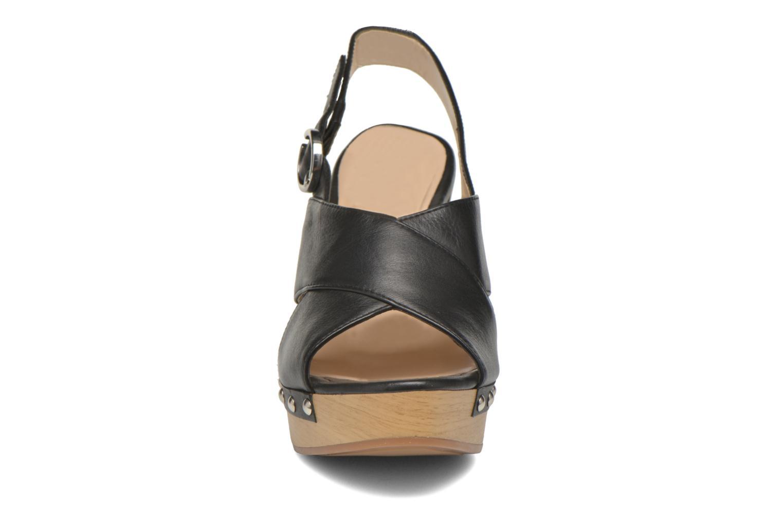 Sandalen Unisa Trevor schwarz schuhe getragen