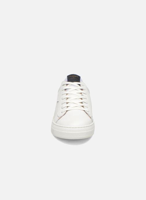 Baskets Schmoove Spark Clay Blanc vue portées chaussures