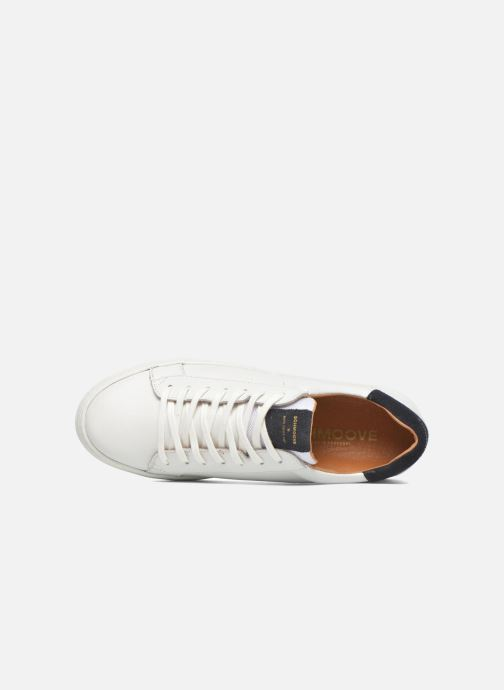 Trainers Schmoove Spark Clay White view from the left