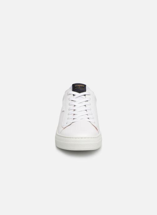 Sneaker Schmoove Spark Clay weiß schuhe getragen