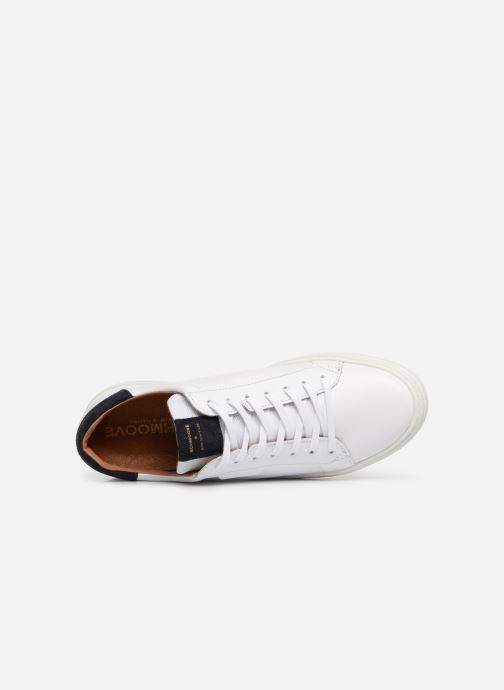 Sneaker Schmoove Spark Clay weiß ansicht von links