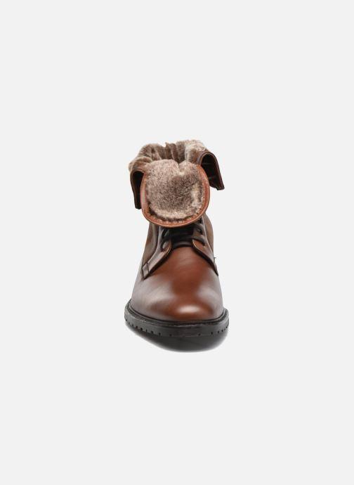 Boots en enkellaarsjes Heyraud DAVY Bruin model