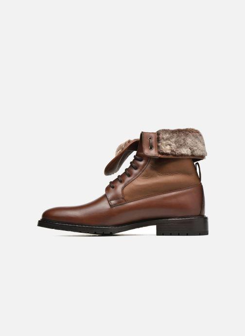 Boots en enkellaarsjes Heyraud DAVY Bruin voorkant