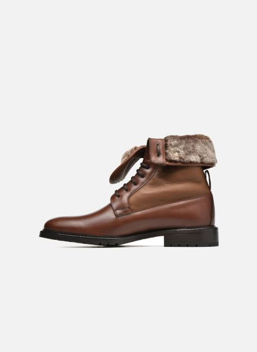 Ankle boots Heyraud DAVY Brown front view