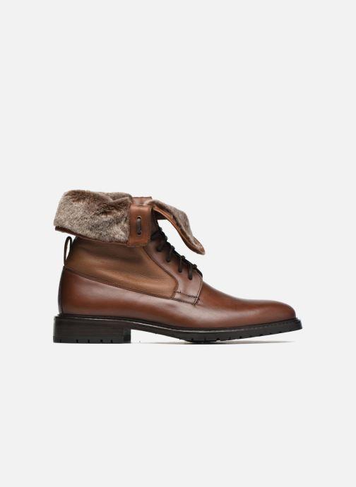 Boots en enkellaarsjes Heyraud DAVY Bruin achterkant