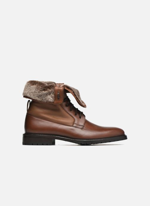 Ankle boots Heyraud DAVY Brown back view