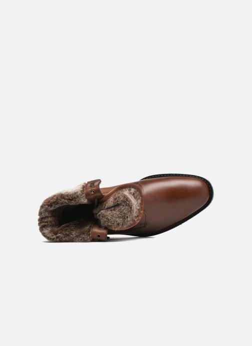 Boots en enkellaarsjes Heyraud DAVY Bruin links