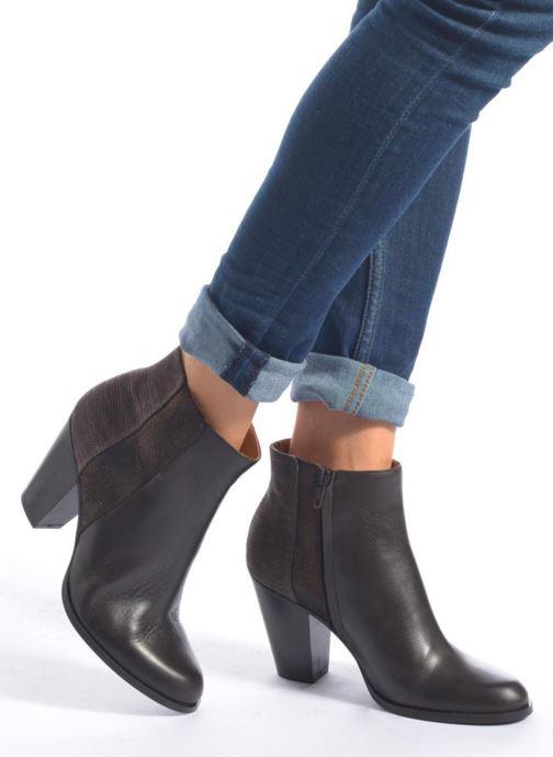 Bottines et boots Schmoove Woman Gravity delta Bleu vue bas / vue portée sac