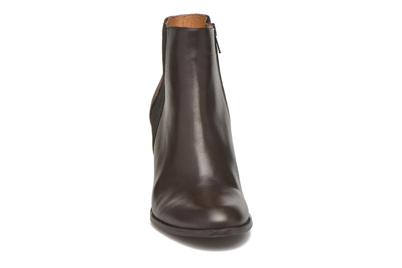 Bottines et boots Schmoove Woman Gravity delta Marron vue portées chaussures